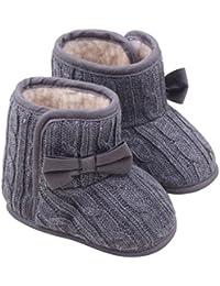 68b737ac2c2ac Ouneed® 3-12 mois Bebe Naissance Chausson Boots Premier Pas Velcro Tollder  Shoes