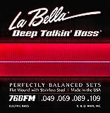Labella 760FM Jeu de Cordes pour Basse 49/109 Flat Wound