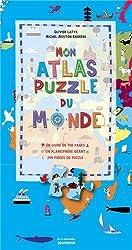 Mon atlas puzzle du monde (coffret)