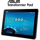 "Asus Transformer Pad - Tablet de 10.1"" (WiFi 802.11 b/g/n + Bluetooth 4.0, 16 GB, 1 GB RAM, Android 4.4 KitKat, incluye teclado Qwerty), negro"