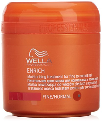 Wella Professionals - Masque pour Cheveux Fins à Normaux - Enrich Moisturising Treatment Mask - 150ml