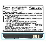 Akku-King Akku ersetzt VODAFONE LI3715T42P3H654251 - Li-Ion 1500mAh - für 945, VF945, WebSession Mifi G3 R203, ZTE MF30, MF60, MF61