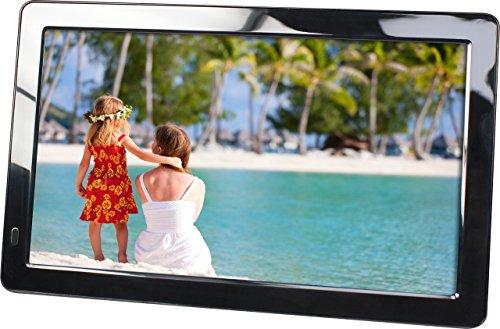 """Rollei Gauguin DPF-10.1"""" Full HD - Digitaler Multimedia Bilderrahmen mit 10,1"""" (25,65 cm) TFT-LED Panel, Bild-, Video-, Musik-, Kalender- und Uhr-Funktion, inkl. Fernbedienung - Schwarz"""