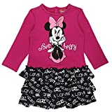 Disney Ragazze Minnie Mouse Vestito, rosa, taglia 80, 12 mesi