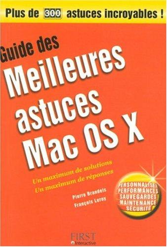 GUID MEIL AST MAC OSX PLUS DE
