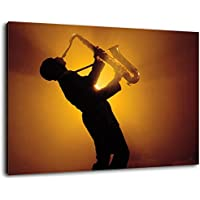 saxophone pas cher impressions sur toile tableaux cuisine maison. Black Bedroom Furniture Sets. Home Design Ideas