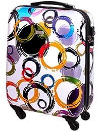 898a48193 Carcasa rígida funda de viaje equipaje de mano con ruedas (30 L, Multi Color  Blanco 818. B00WMSP3SM. Karry Maleta ...