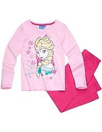 Pyjama long enfant fille La reine des neiges 'Snow Queen' Rose de 4 à 10ans
