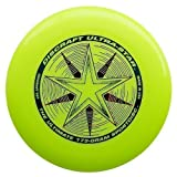 "Discraft Ultra-Star 175g Ultimate Frisbee ""Starburst"" - amarillo"