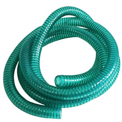 Helo Ansaugschlauch 2 Meter für Diesel oder Heizöl, verstärkter Saugschlauch mit Drahtspirale für Dieselpumpen oder Heizölpumpen, Länge: 2m, Durchmessser: ca. 24,00/29,55 mm
