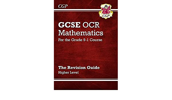 Gcse maths ocr revision guide higher for the grade 9 1 course gcse maths ocr revision guide higher for the grade 9 1 course cgp gcse maths 9 1 revision ebook cgp books amazon kindle shop fandeluxe Images