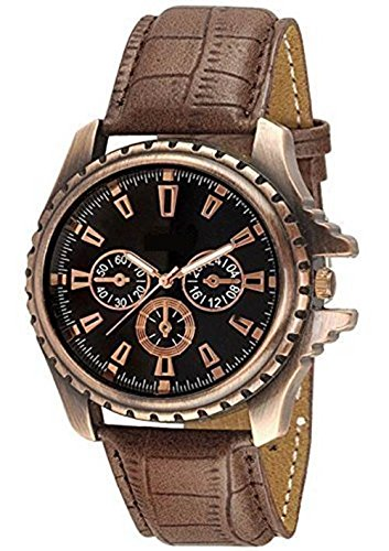 Bollywood Designer Analog Black Dial Men's Watch - WCH-121  available at amazon for Rs.199