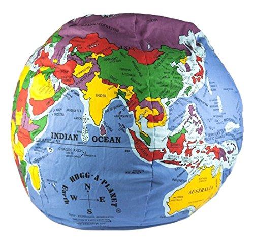 Hugg a Planet. Globo terráqueo de tela en inglés. 30 cm de diámetro. por VV.AA.