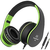 Cuffie, Sound Intone I68 Stereo Con Microfono in Linea controllo volume per Smartphones/PC/Ipod/Ipad