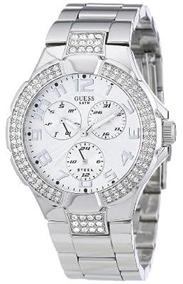 Guess Prism 14503L1 - Reloj unisex de cuarzo (japonés), correa color plata