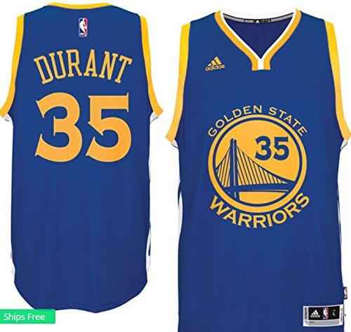 adidas Durant Swingman Warriors Jersey (7470a-Durant), Herren, königsblau Kevin Durant Authentic Jersey