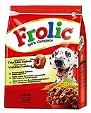 Frolic Hundefutter Rind, Karotten und Getreide, 3 Packungen (3 x 3 kg)