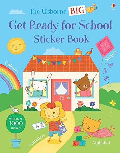 Big Get Ready for School Sticker Book (Get Ready for School Sticker Books) por Jessica Greenwell