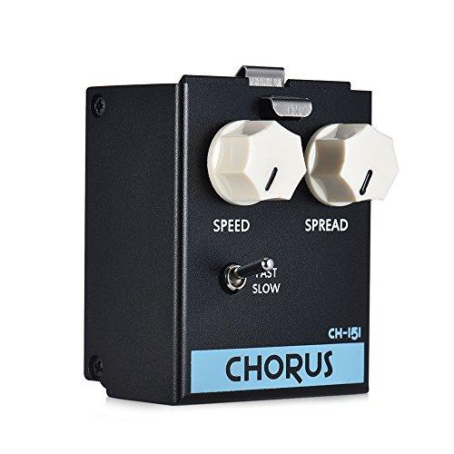 Fesjoy pedal de efecto de coro LiveMaster Series CH-151 Módulo de Pedal de Efectos de Guitarra de Coro Analógico True Bypass