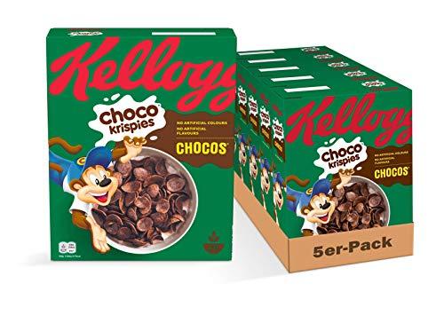 Kellogg Choco Krispies Chocos, 5er Pack (5 x 330 g)