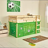 Chad Valley Football Tent for Shorty Mid Sleeper Bed Frame
