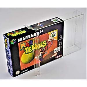 100 x Klarsicht Schutzhüllen für Nintendo 64 OVP 0,3mm N64 Passgenau und Glasklar-PET-Reset Retro Game Protectors-cases…