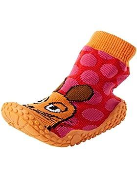 Playshoes Aqua-Socke Badeschuhe DIE MAUS Punkte - Zapatillas Niñas