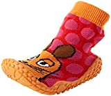 Playshoes DIE MAUS Aqua-Socke Badeschuhe DIE MAUS Punkte 174811, Mädchen Aqua Schuhe, Pink (original 900), 22/23 EU