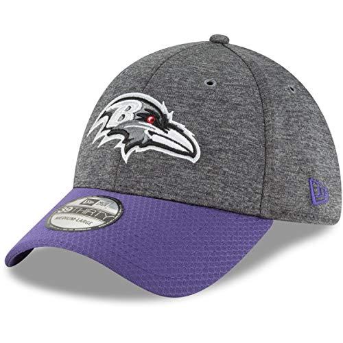 New Era 39Thirty Cap - Sideline Graphite Baltimore Ravens