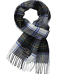 Scotch & Soda Herren Halstuch Classic scarf in brushed quality with check pattern