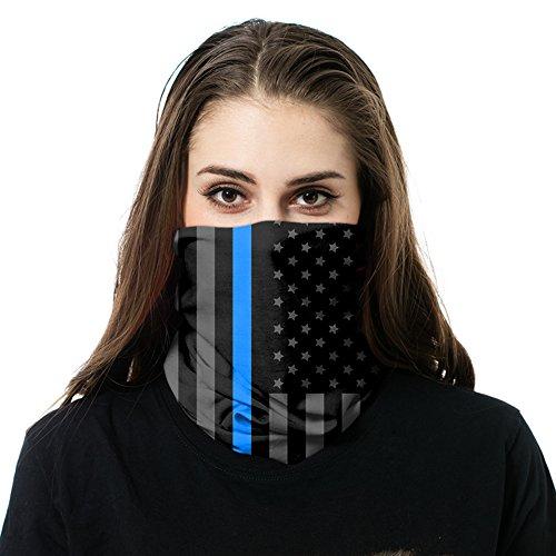 gettac Bandz–Schützt vor Schnee, Wind oder Sonne–Gut für Herren und Damen–Neck Gaiter, Gesichtsmaske, (Clown Masken Beste Scary)