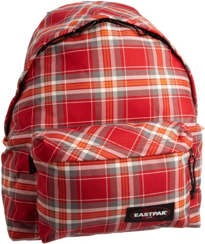 EASTPAK PADDED PAK'R EK620 RUCKSACK INTO TAN NAVY UNI neon red