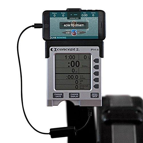 Cavo di Collegamento Schermato Alta Qualità per Smartphone LiveRowing Concept 2 indoor Vogatore -...
