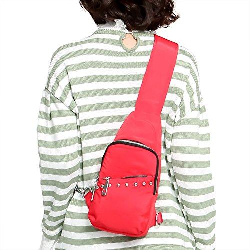 MSZYZ Weihnachtsgeschenke Wasserdichte Atmungsaktive Beutel mit Einem Kleinen Brust Erweiterung Weiblichen Freizeitaktivitäten Tasche