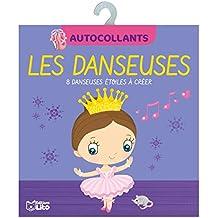 Mes petits blocs en autocollants: Les danseuses- Dès 4 ans