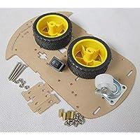 روبوت ذكي لتشكيل هيكل سيارة صغير الحجم يدويا بلوحة منفردة وعجلين للوحات اوردينو