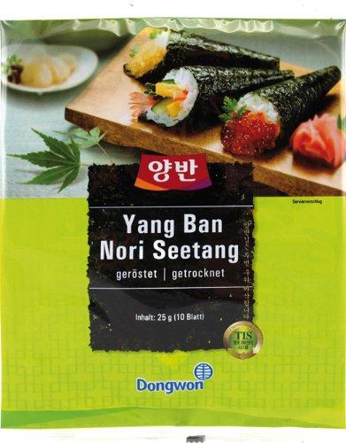 Seegras für Kimbap und Sushi - Nori title=