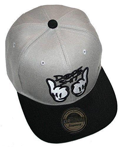 Snapback Cap – Uni (Dope Gray)