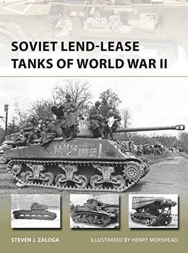 Soviet Lend-Lease Tanks of World War II (New Vanguard Book 247) (English Edition)