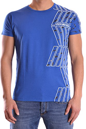 dirk-bikkembergs-mens-c707sfdmb016y29-blue-cotton-t-shirt