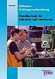 Dähmlow Prüfungsvorbereitung Metalltechnik für Industrie und Handwerk