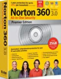 Norton 360 v3.0 Premier Edition, 3 User Licence (PC DVD)