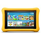 "Fire 7 Kids Edition Tablet, 7"" Display, 16 GB, Yellow Kid-Proof Case (Previous Generation - 7th)"