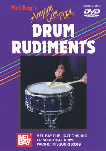 ANYONE CAN PLAY DRUM RUDIMENTS REINO UNIDO DVD