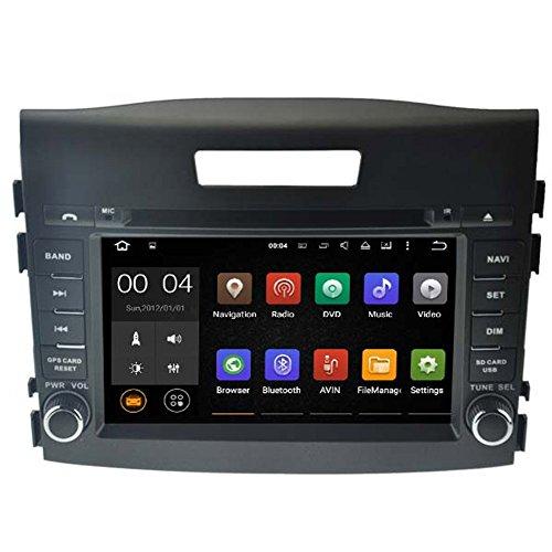 Autosion Android 7.1 Cortex A9 1.6 G Lecteur DVD de Voiture GPS Radio Head Unit Navi stéréo multimédia WiFi pour Honda CRV 2012 2013 2014 2015 Support Commande au Volant