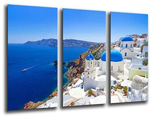 Cuadro Fotográfico Paisaje Santorini