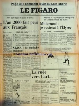 FIGARO (LE) [No 12636] du 17/04/1985