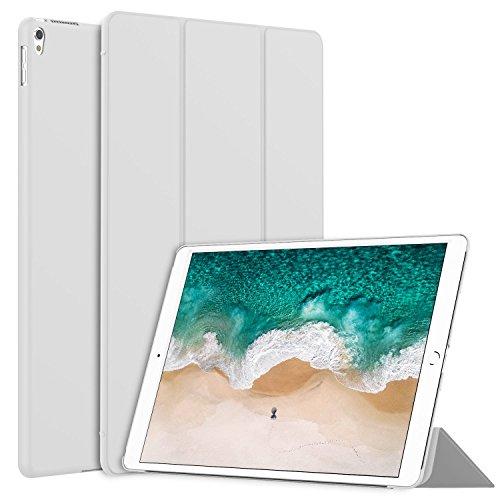 JETech Hülle für Apple iPad Pro 10,5, Licht und Dünn Schutzhülle mit Ständer Funktion und Auto Einschlafen/Aufwachen, Grau (Ipad Apple 10)