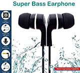 #3: GKP Products ® Super Bass Earphone/Headphone With Mic for All Mobile phones Model 413347