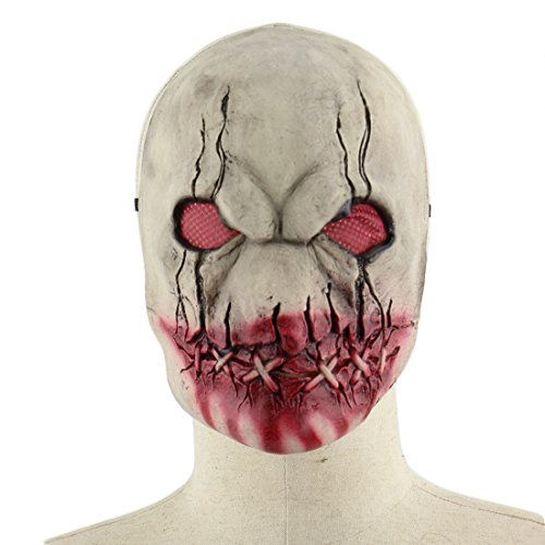 Latex Maske Gruselige Blutige Halloween Maskerade Horror -